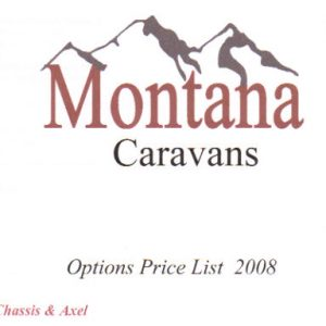 Montana Caravans Chassis & Axels