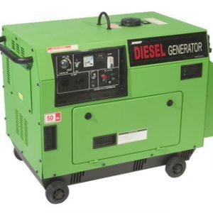 GENQUIP Silenced Diesel Generator