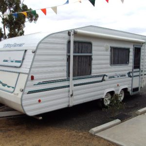 Sold Sold Windsor 19ft Dynasty Shower Toilet caravan