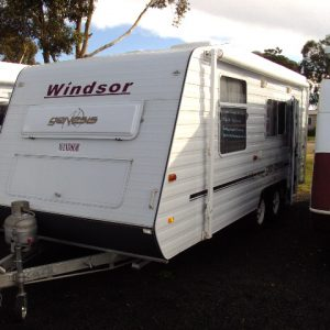 Sold Sold Windsor caravan 20ft Gennis Tandem