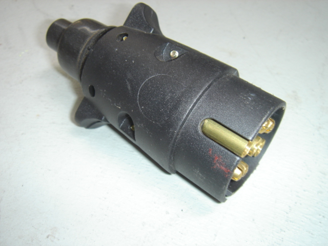7 Pin round connection Male