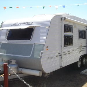 Sold Sold Bluestone  20ft S/Toilet by Quest Caravans