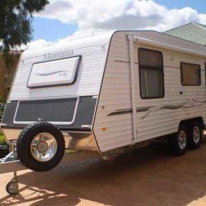 "Montana Caravans 6"" Main Beam Chassis"