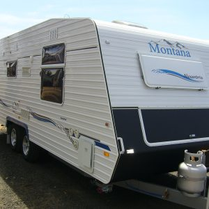 Montana Caravan Alexandria 21ft rear Ensuite