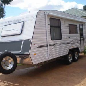 "Montana Caravans Extended A Frame 12"" to 24"" with support for to"