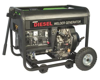 GENQUIP Diesel Welder and Generator