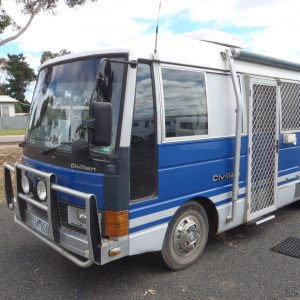 Sold Nissan Motor Home 1985