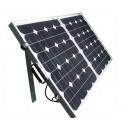 Solar 120W folding panel with bag and leads ready to use
