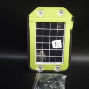 Portable solar panel (2.5 K Watt) label K