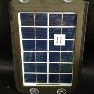 Portable solar panel (4 Watt) label H