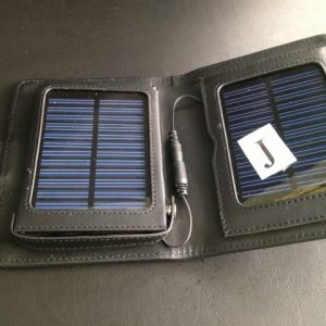 J- label 2- panel Solar Charger