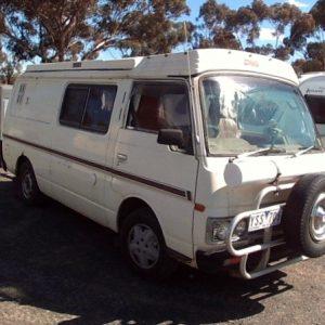 SOLD Nissan Camper Van