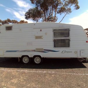 SOLD Compass 19ft Tandem Island Bed/Shower and Toilet